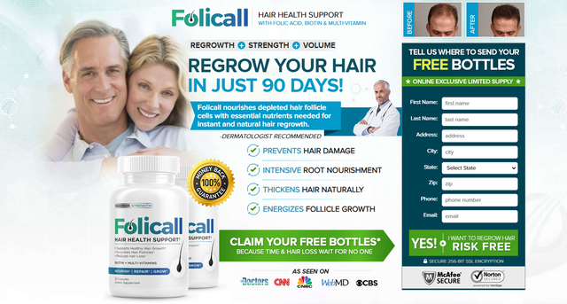 Folicall Hair Growth