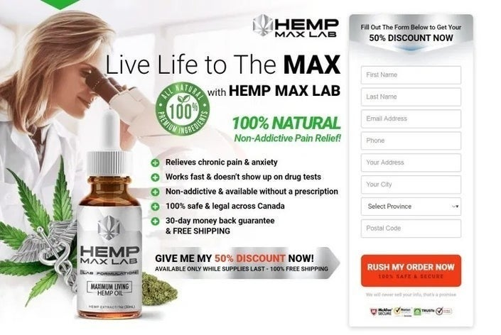 Hemp-Max-Lab 2