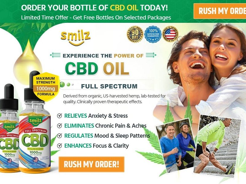 Smilz CBD Oil 2