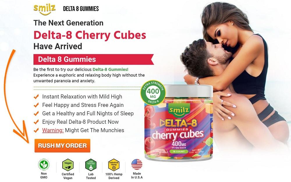 Delta 8 Cherry Cubes 4